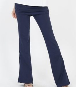 Zenana Signature for Lydiane Navy Ruched YogaPants